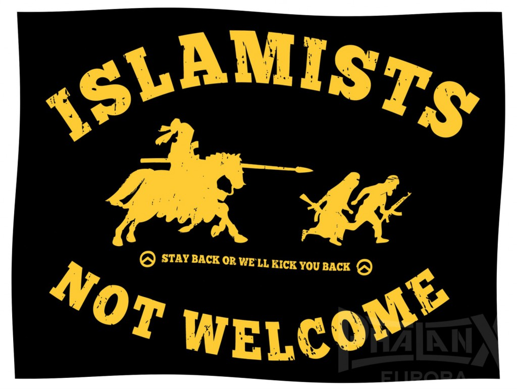 islamists-not-welcome-fahne
